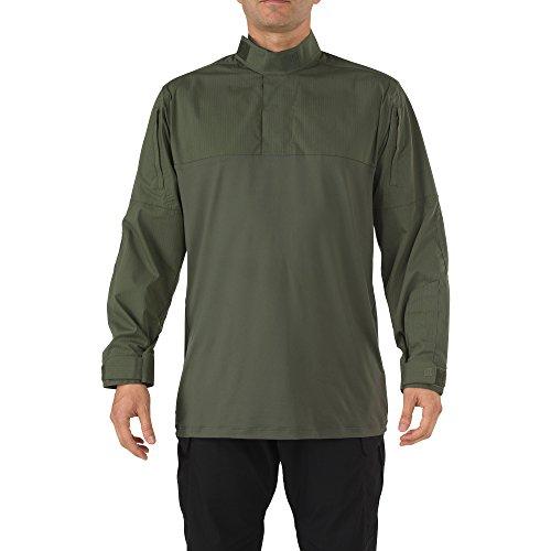 5.11 Tactical Series 511-72071 Chemise de Combat Mixte Adulte, TDU Green, FR (Taille Fabricant : 3XL)