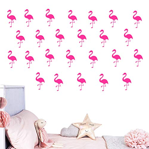 (52% OFF) 30pcs Flamingo Wall Decor $4.79 Deal
