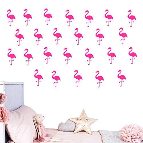(52% OFF) 30pcs Flamingo Wall Decor $4.79 Deal