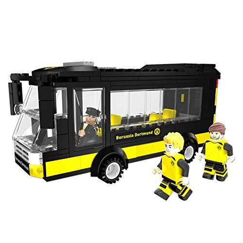 Borussia Dortmund BVB-MANnschaftsbus aus Bausteinen one Size