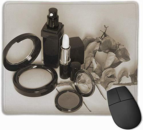 rutschfeste Mausunterlage Rechteckiges Gummi-Mousepad Lippenstift-Werbungs-Druck-Spiel-Mausunterlage