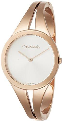 Calvin Klein Femme Analogique Quartz Montre avec Bracelet en Acier Inoxydable K7W2M616