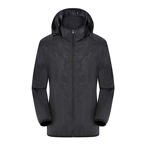 Vertvie Unisex letnia super lekka bluza z kapturem kurtka przeciwdeszczowa kurtka przejściowa szybko schnie wiatr kurtka outdoorowa ochrona przed słońcem kurtka softshell cienka kurtka rowerowa kurtka przeciwdeszczowa