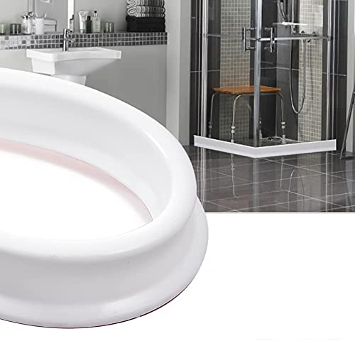 Tira impermeable de silicona flexible, umbral de ducha, tapón de agua de presa de agua,banda para cambiar la dirección del agua, distintos tamaños 400cm
