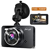 Dash Cam 1080P DVR Dashboard Camera Full HD 3' LCD Screen 170°Wide Angle, WDR,...