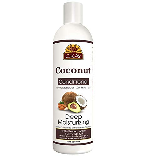 Okay Coconut Deep Moisturizing Conditioner, 12 Fl Oz
