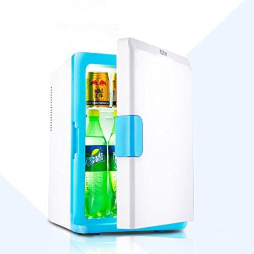 JCOCO Réfrigérateur 12v220v de voiture froide de voiture de 18L mini voiture et maison réfrigérée réutilisable de l'eau (Couleur : Bleu)
