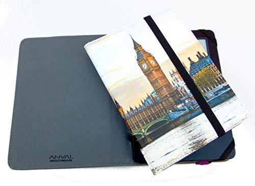 ANVAL Funda EBOOK BQ Cervantes 3 - Estampados - Funda Libro electrónico