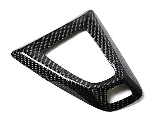 Eppar New Carbon Fiber Shift Knob Cover for BMW M3 F80 2014-2018 (Shift Knob Under Cover 1PC)