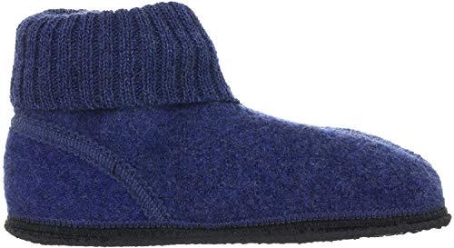 kitz-pichler Ötz Unisex-Kinder Hausschuhe (29, Blau (Jeansblau 2627))