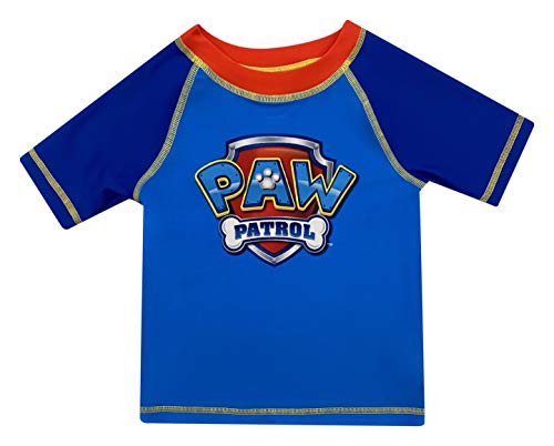 Toddler Boy Paw Patrol Rash Guard Rashguard Swim Shirt 2T