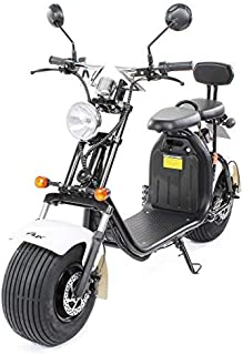 PEQUENENES Patinete Scooter EFLUX Harley 1500 W 60 V 20AH