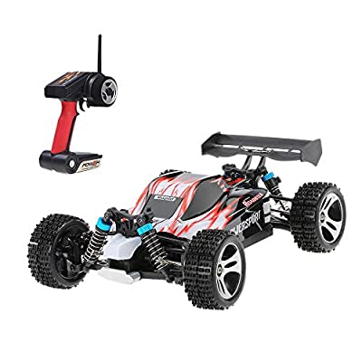 Littleice Wltoys A959 Racing Car Upgraded 540 Brush Motor High Speed 50km/h 1:18 4D 2.4G Remote Control RC Car