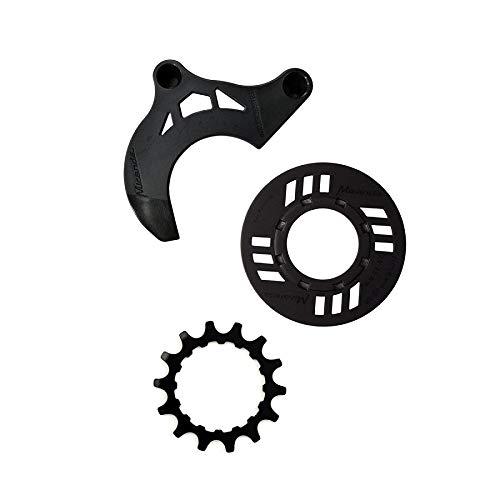 Miranda Kettenschutz-Set für E-Bike 14 Zähne Kettenführung für GEN 2 schwarz