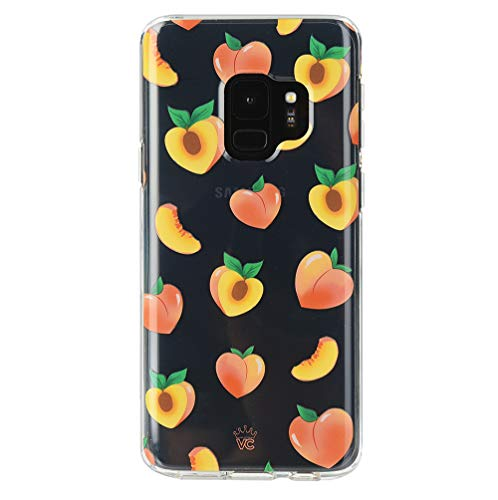 Velvet Caviar Compatible with Samsung Galaxy S9 Case Peach Clear for Women & Girls - Cute Protective Phone Cases [Drop Test Certified] (Peachy Orange)