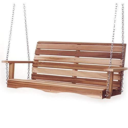 All Things Cedar PS48 Cedar Poarch Swing, 4'