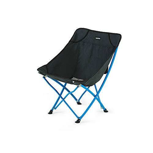 CJSWT Sillas para Acampar La Silla Redonda de la Luna, el sillón reclinable, soporta 120 kg con Bolsa de Transporte, al Aire Libre para el Campamento de césped para Senderismo Deportes de Pesca,D