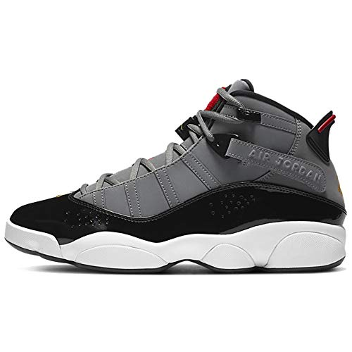 Jordan Mens 6 Rings Basketball Fashion Sneaker 322992-022 Size 10