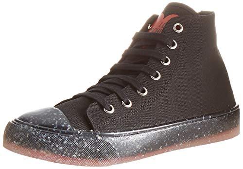 Love Moschino, Sneakers da Donna, Collezione Primavera Estate Baskets pour Femme-Collection Printemps été 2021, Noir, 39 EU