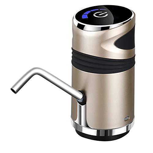 SPGHOME Automatische elektrische Wasserpumpe, universeller elektrischer Wasserspender Flaschenwasserpumpe Trinkschalter Wasserpumpengerät