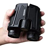 12x25 Compact Binoculars for Adults and Kids - Mini Binoculars for Adults - Small Binoculars for Bird Watching, Travel, Concerts, Hunting, Hiking, Sports, Camping, Field, Theater, Boat. (12x25)
