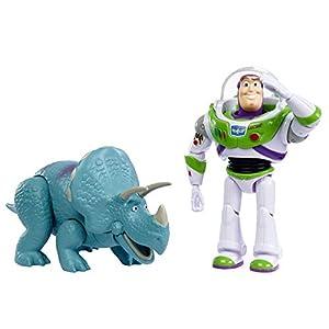 Disney - Toy Story 4 Pack de 2 Muñecos, Buzz y Trixie, Juguetes Niños +3 Años (Mattel GJH80)