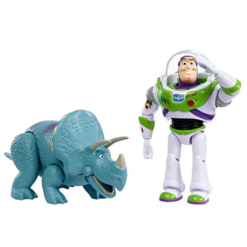 Toy Story Disney and Pixar Adventure 2-Pack Buzz Lightyear and Trixie, GJH80, Multi