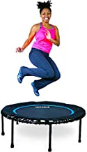 Leaps & ReBounds Bungee Rebounder - in-Home Mini Trampoline - Safety Bungee Cover, Rubber Bungee Fitness Trampoline - Named Best Value Rebounder