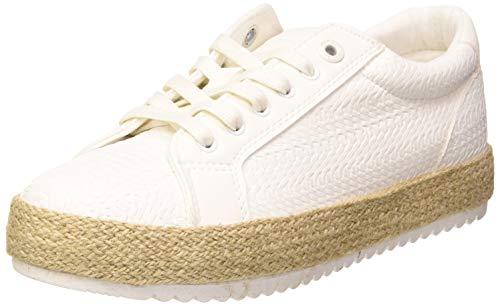 MTNG Damen 69193 Sneaker, Weißes Geflecht Weiß C49137, 39 EU