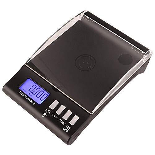 Wifehelper 30g x 0.001g Gem Schalen LCD Display Grain Thee Milligram Lab Diamant Sieraden Munten Thee Kleine Items Gewicht