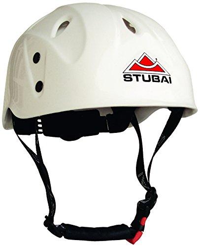 Stubai Kinder Delight Junior Kletterhelm, Weiß, 48-57 cm/340 g
