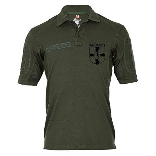 Copytec Tactical Poloshirt Alfa - FA - UABtl 2 Feldwebel Unteroffitieranwärterbataillon Bundeswehr Feldwebelanwärter #18995, Größe:XL, Farbe:Oliv