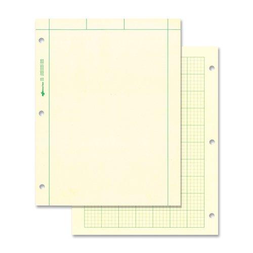 National Computation Pad, 5 x 5 Quad Ruling and Unruled, 8.5