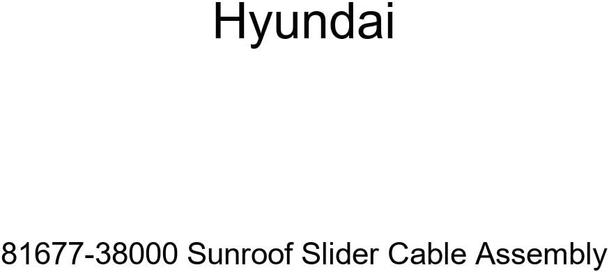 Hyundai 81677-38000 Baltimore Mall Sunroof Slider Assembly safety Cable