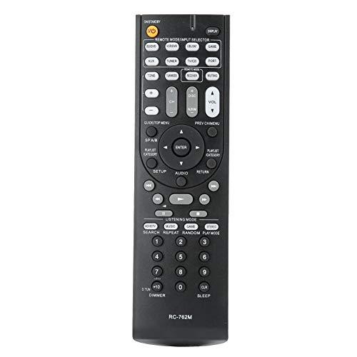 VBESTLIFE Austausch der Fernbedienung des RC-762M-AV-Empfängers für Onkyo HT-S3400, AVX-290, HT-R390, HT-R290, HT-R380, HT-R538, HT-RC230, 29400468, HT-S3300, HT-S3300B, TX SR308