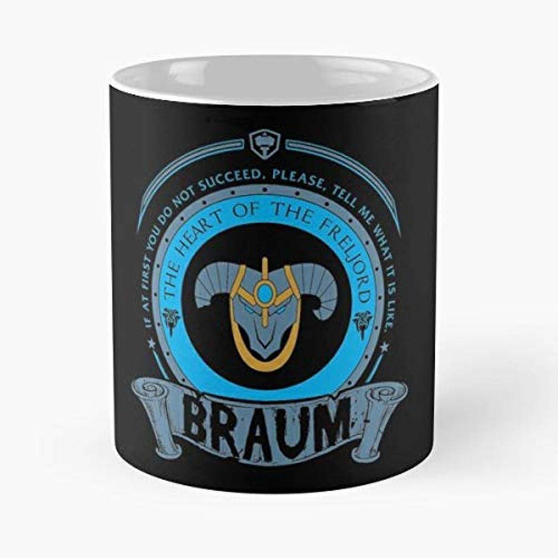 Lol Braum League Of Legends Gift Coffee/tea Ceramic Mug Father Day