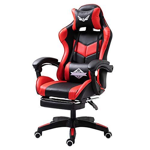 Draaibare bureaustoel, Computer bureaustoel Gaming stoel Reclining Rugleuning Lift Draaibare stoel