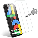 Tutetorna Screen Protector for Google Pixel 4a [3Pack] [Case Friendly] [No Bubbles] [Easy Installation] [9H Hardness] [High Definition] Tempered Glass for Google Pixel 4a Screen Protector