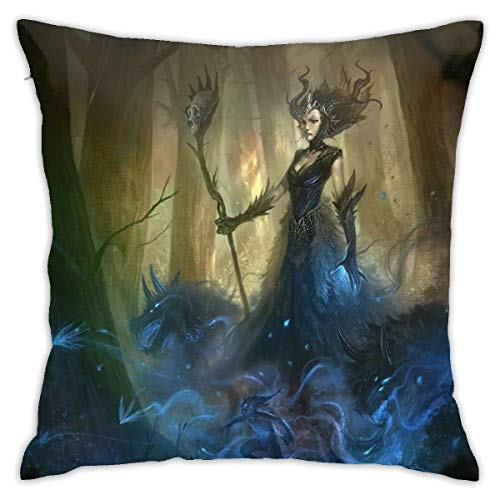 qidong Pillowcase Sofa Home Soft and Cozy Pillowcase 1818 Inches