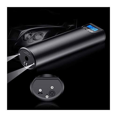 Inflador de neumáticos del compresor de aire Bomba De Neumáticos Digitales Del Neumático Portátil Del Compresor Inalámbrico Del Inflador Del Neumático 12V 150PSI Bomba De Aire Recargable Para El Coche