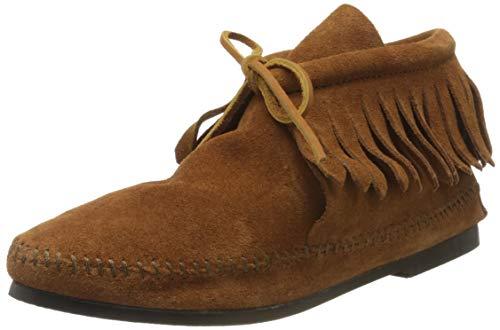 Minnetonka - Classic Fringe Boot - Taille 42 - Marron