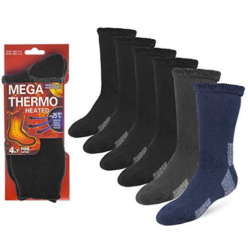 Debra Weitzner Thermal Socks For Men and Women Heated Winter