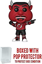 POP! Sports NHL Mascots NJ Devil New Jersey Devils Action Figure (Bundled with Pop Shield Protector to Protect Display Box)