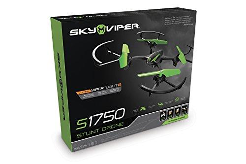 Goliath 90289 - Sky Viper Stunt Drohne, Quadrocopter, Automatische Start-, Lande- und Schwebefunktion, 2,4 GHz, Stabilisationssystem, Einsteiger und Profi-Modus, ab 12 Jahren