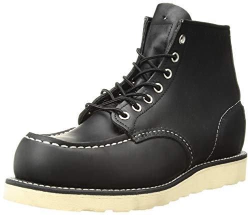 Red Wing Shoes 8130 Moc Toe Schwarz Schnürstiefel Work Boots