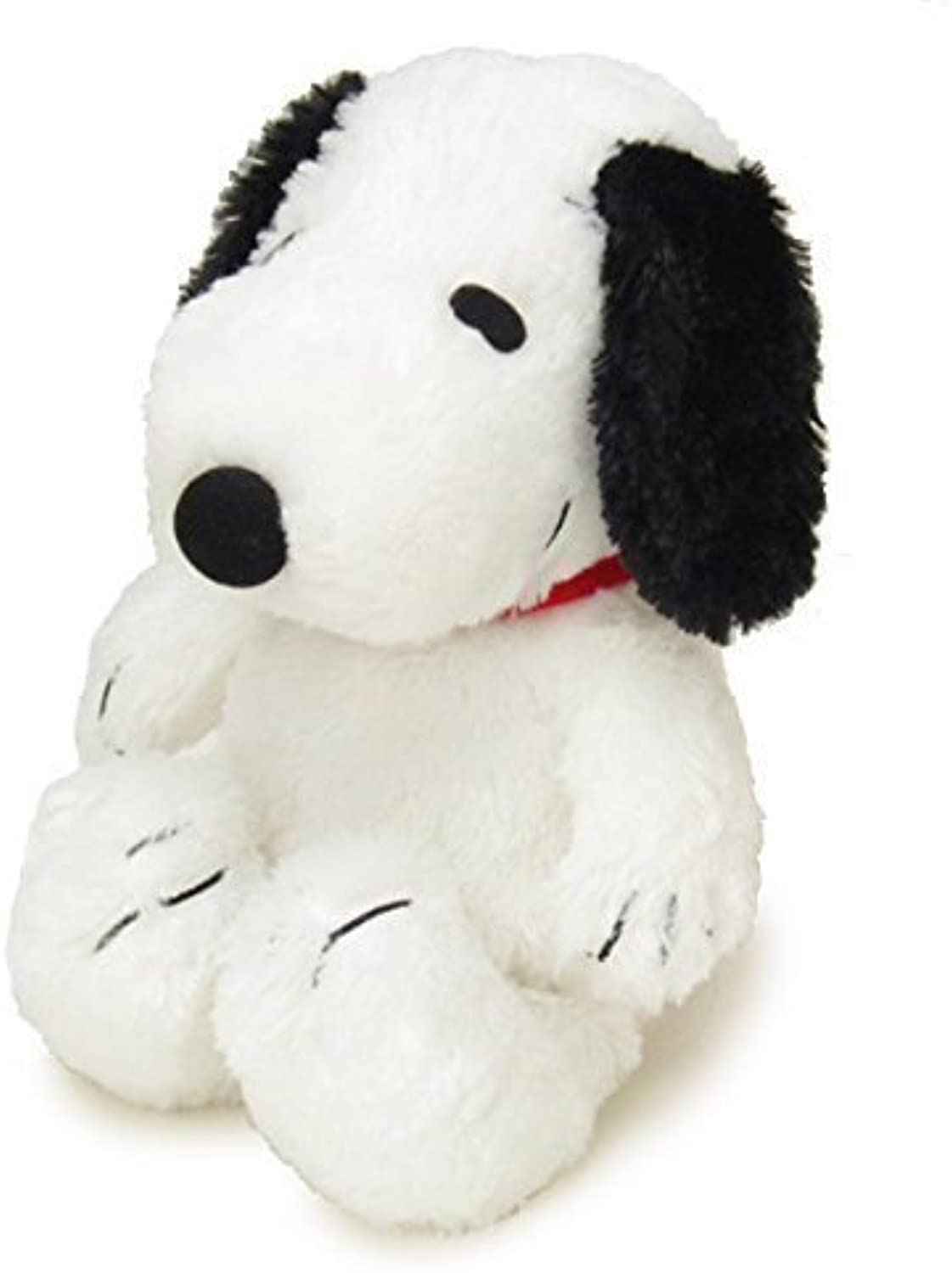 PEANUTS Peanuts Snoopy Pafupafu stuffed S sitting height 20cm black