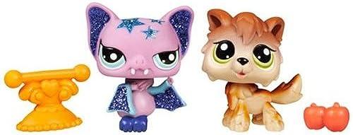 Littlest Petshop - Petshop Duo Brillant Wolf und Fledermaus 32015