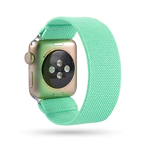 Correa para Apple Watch band 44mm 40mm Sport loop para iwatch SE 6 5 4 42mm 44mm correa de reloj para apple watch 1 2 3 elasticidad de nailon