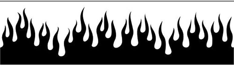 Pochoir A/érographe de flammes//flames C498