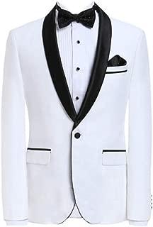 Premium Formal Shawl Lapel Slim Fit Tuxedo Prom Wedding Groom Suits Blazers Jacket Coat